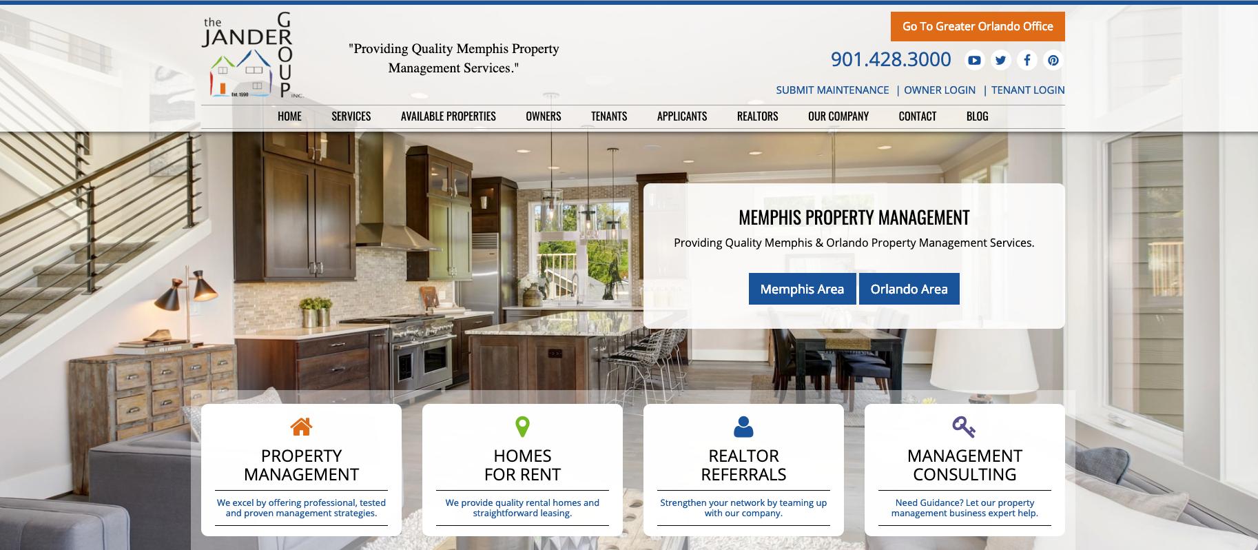 Memphis Property Management, Memphis Property Managers, Memphis